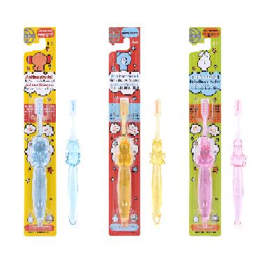 負離子抗菌免牙膏幼兒牙刷