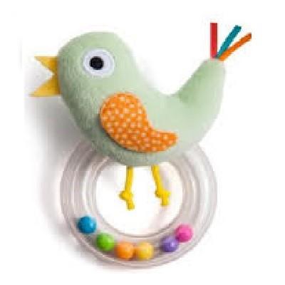 Taf Toys綠色雞仔搖鈴