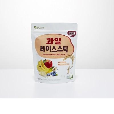 韓國 有機米條
