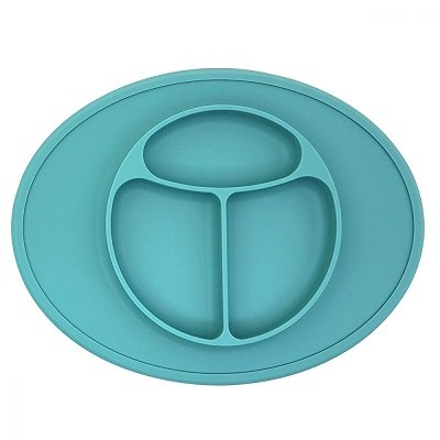 Agafura 全矽膠吸盤餐
