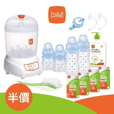 【半價】新生兒套裝-矽膠奶瓶
