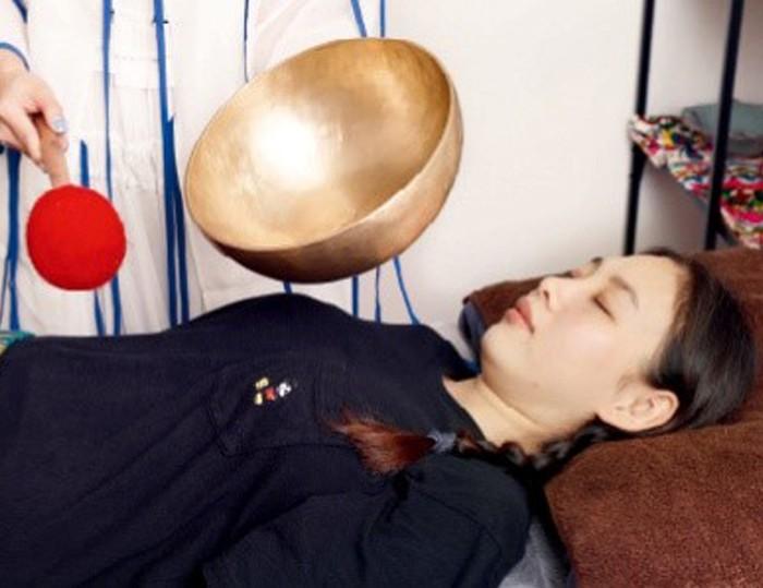 頌缽聲療 助產婦減壓