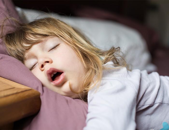 兒童睡眠窒息症