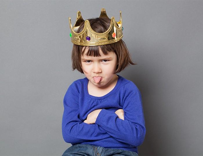 獨生孩易變小霸王?