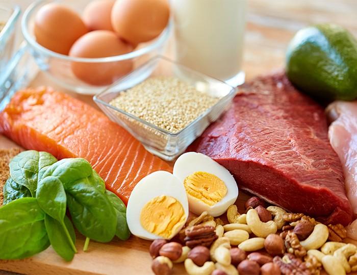 蛋白質食材 每日都要有!