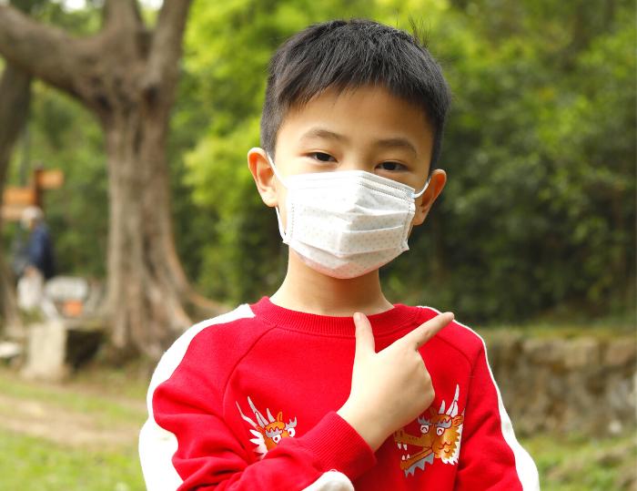 兒童戴口罩正確方法