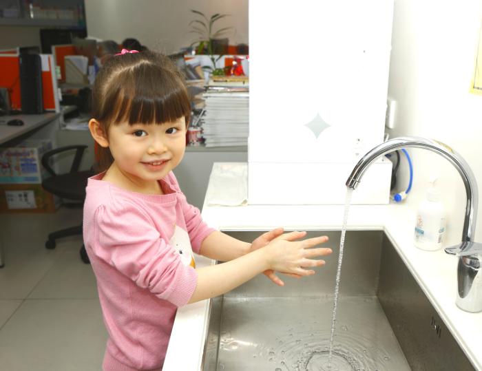 教兒童正確洗手方式