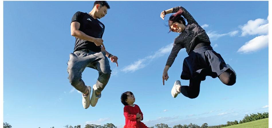 嘆澳洲自然風光 吃喝跑跳