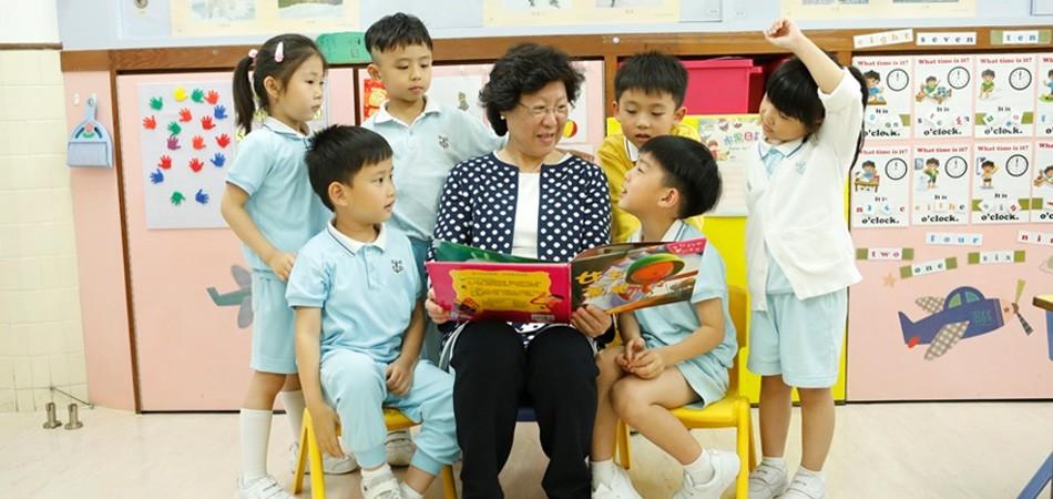 聖公會聖彼得堂幼稚園語境品格