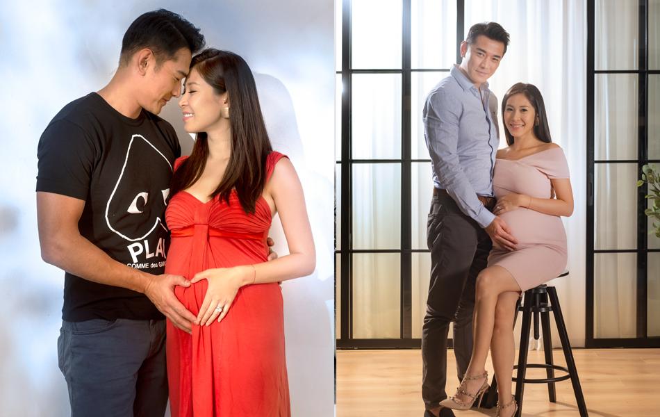 黃祥興妻子懷孕1