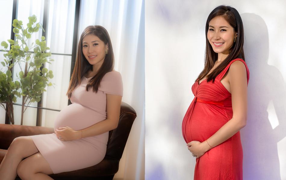黃祥興太太懷第三胎