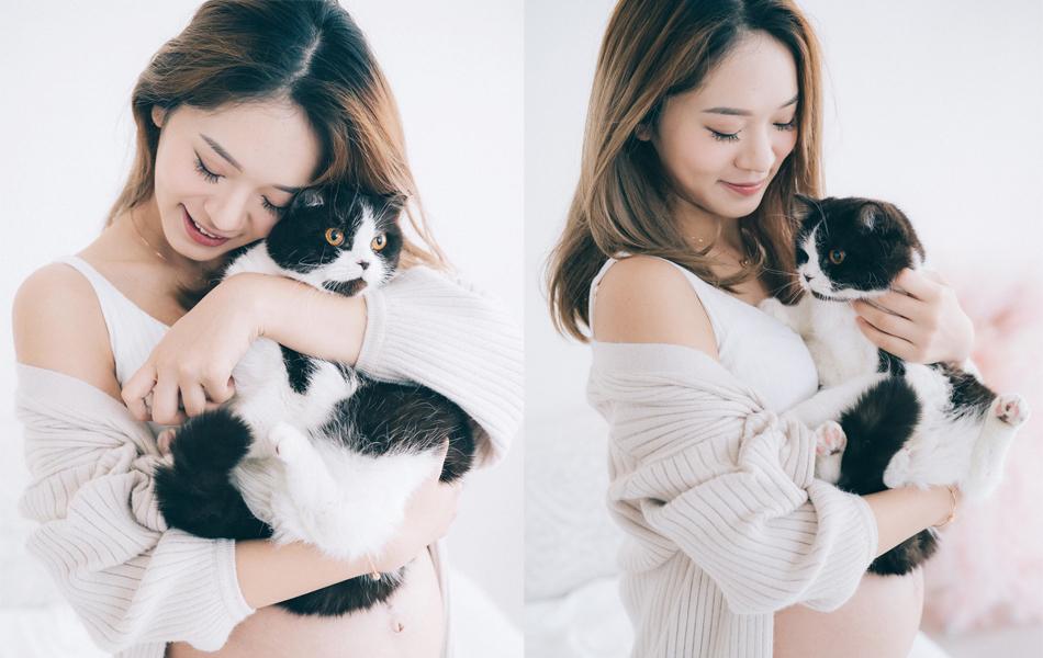 楊嘉欣愛貓
