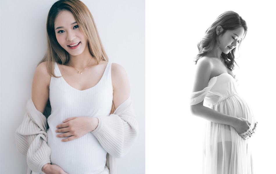 楊嘉欣懷孕