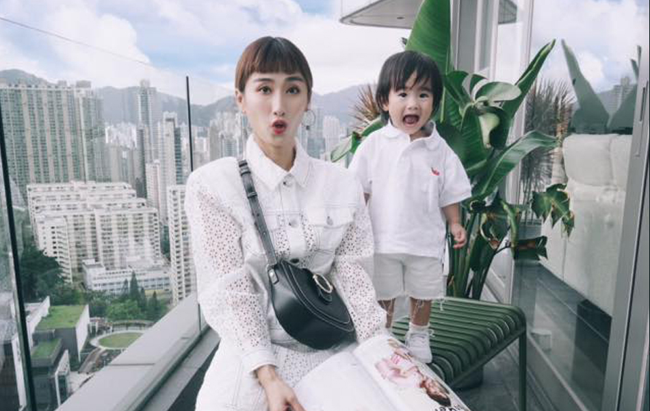 符雅凝和女兒