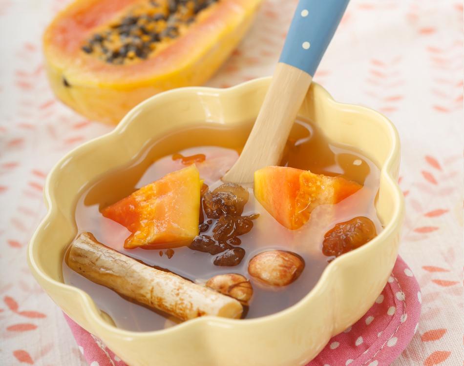 木瓜桃膠湯