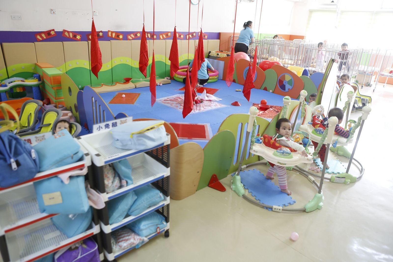 育嬰園活動空間要夠大